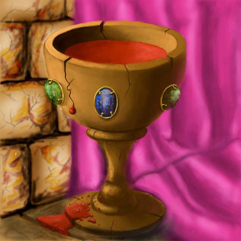 Чашу грааля где находится