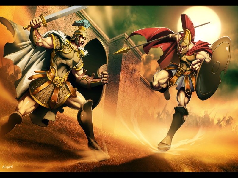 a comparison of achilles and hercules two greek heroes Transcript of greek heroes vs modern superheroes conclusion the influence of ancient greek culture on modern culture has brought today's society a countless.